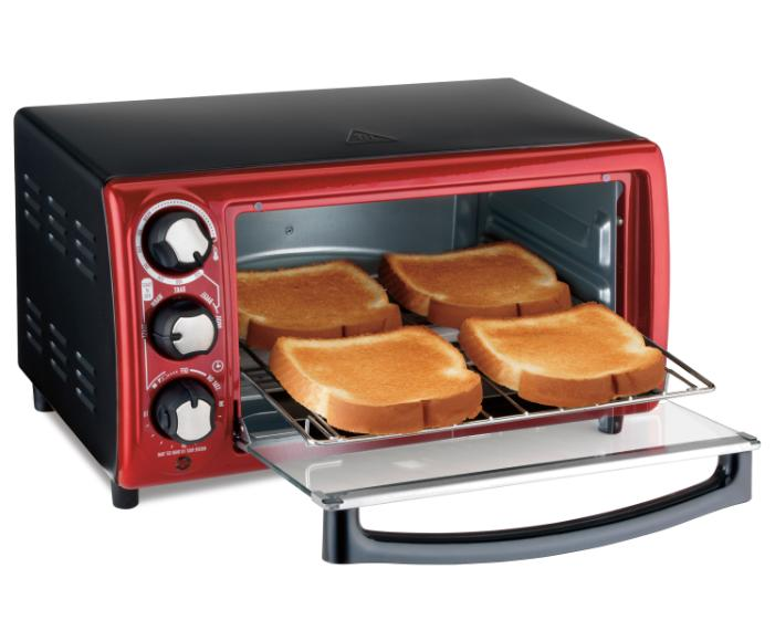 4-Slice Stainless Steel Appliance Toast Broil