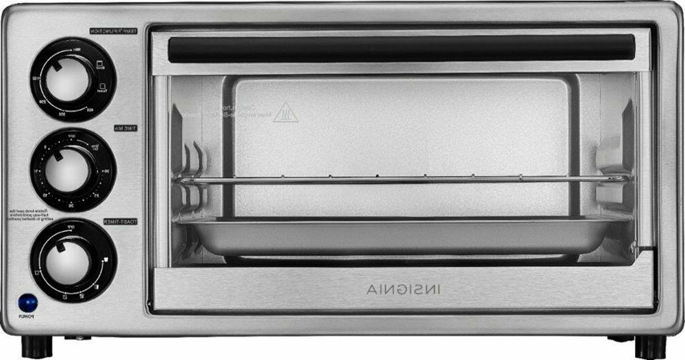 Toaster Oven Timer Controls Three Cooking