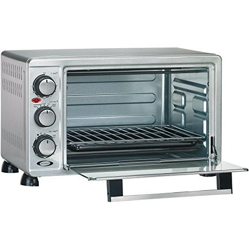 Rosewill 6 Toaster Countertop, Stainless Steel, Capacity 12 Inch Bakeware Rack RHTO-17001