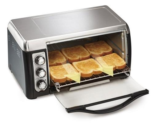 Hamilton Capacity Oven Toast, Convection - Black