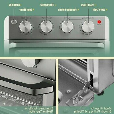 7-in-1 Fryer Toaster Oven Dehydrate Convection Accessories