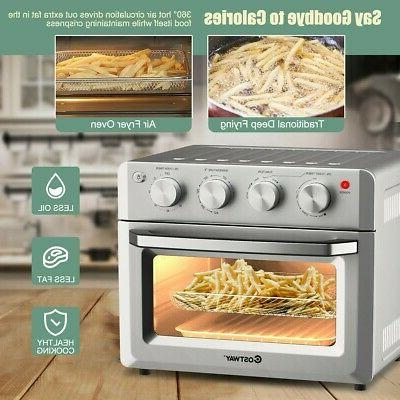 7-in-1 Air Oven Convection Ovens w/ Accessories