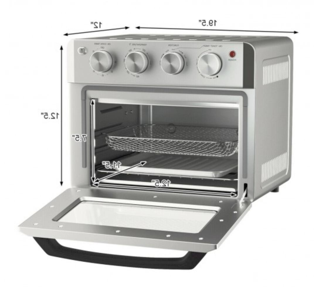 7-in-1 Oven 19 QT Convection w/ 5 Accessories