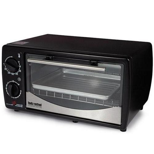 Better Chef 9-Liter Toaster Oven Broiler Holds 4-Slices Blac