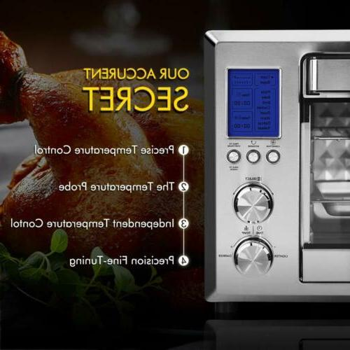 FREE Electric Convection Oven 6 Slice LCD Toaster