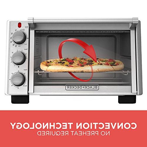BLACK+DECKER 6-Slice Convection Toaster TO2050S