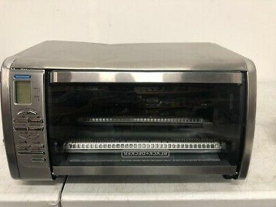 Black Decker Countertop Convection Toaster Oven Silver
