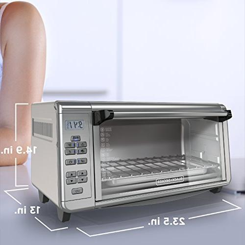 BLACK+DECKER TO3290XSD TO3290XSBD Oven 8-Slice Stainless