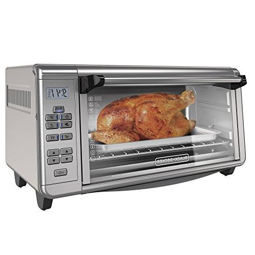 BLACK+DECKER TO3290XSD Toaster Oven 8-Slice Stainless