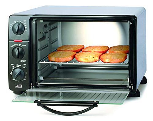 Elite with Stay-On Function Bake, Toast, Capacity Black