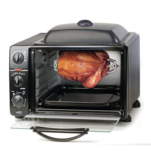 Elite Countertop Toaster Oven Grill Bake, Toast, Pizza,
