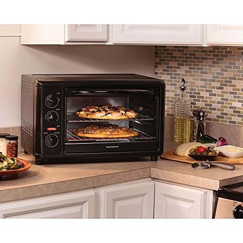 Hamilton Beach Capacity Oven with Convection and Black