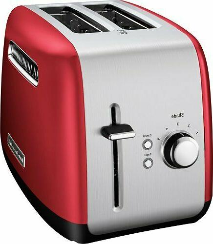KitchenAid Toaster with Manual High-Lift Lever, Empire Red