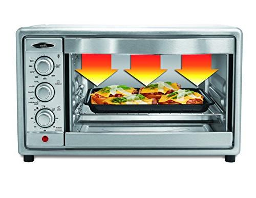 Oster Convection 6 Slice, Steel