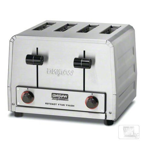 Waring  - Four-Compartment Standard Pop-Up Toaster