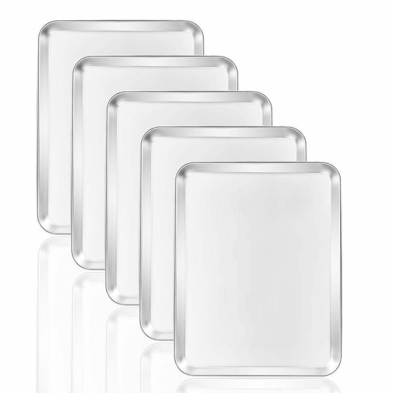 baking sheets 5 pieces cookie set of