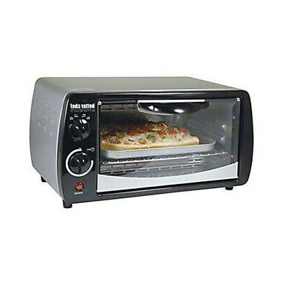better chef4 pizza toaster oven black