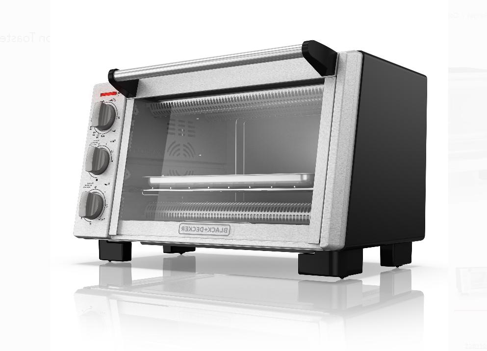 Black & Decker Convection Toaster Oven Steel TO2055S