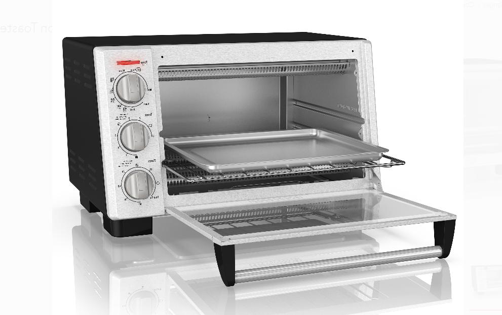 Black 6-Slice Convection Stainless Steel TO2055S