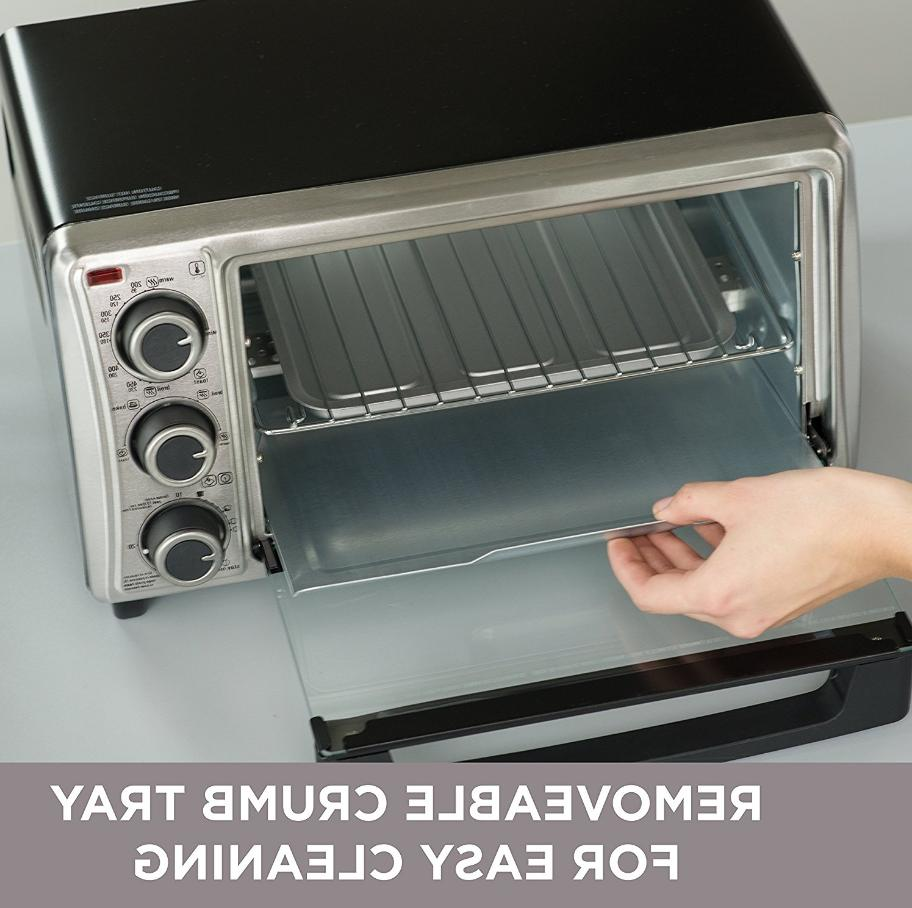 Black And Decker Kitchen Toaster Oven 4 Slice