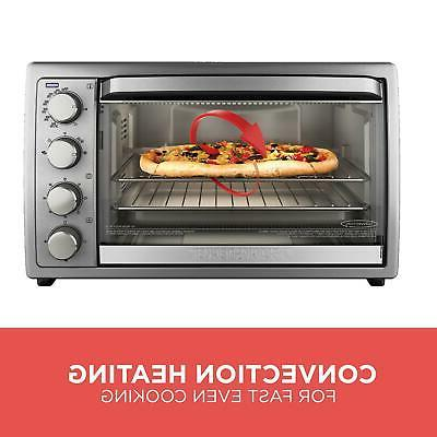 Black+Decker WCR-076 Toaster Oven, 9X13,