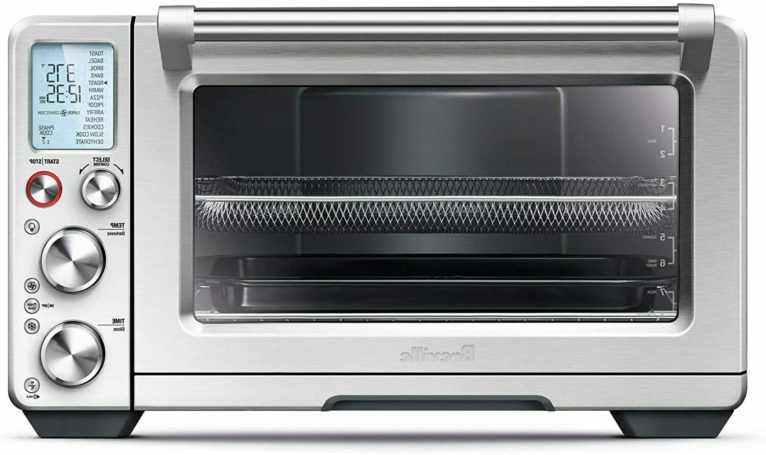 Breville BOV900BSS Convection & Air Fry Smart Oven Air, Brus
