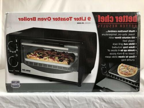 Brand 9 Liter Toaster Oven Broiler Silver