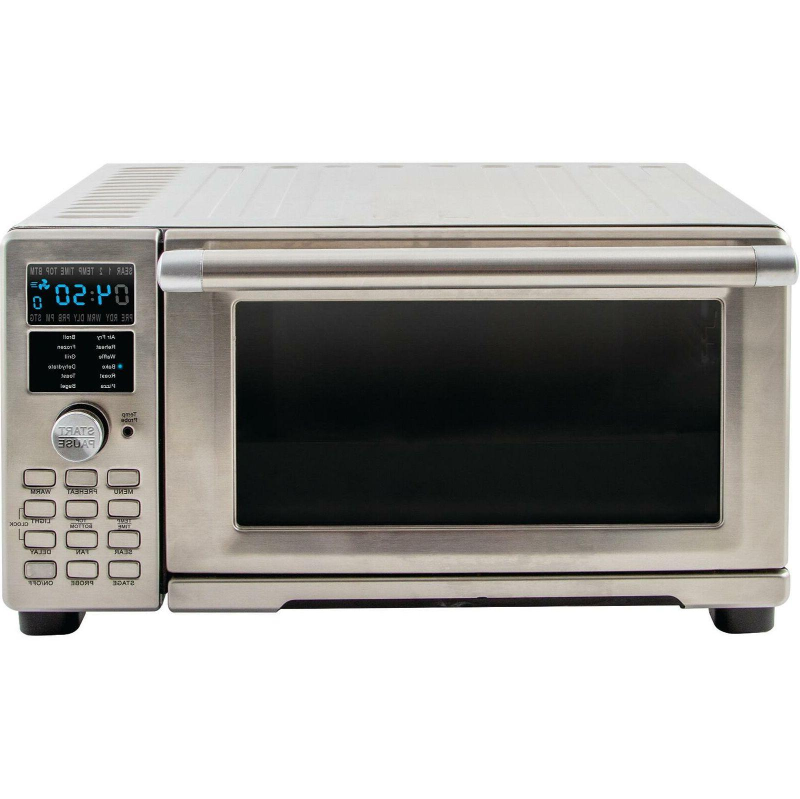 Bravo XL 1800 W Stainless Steel Toaster Oven And Air Fryer T