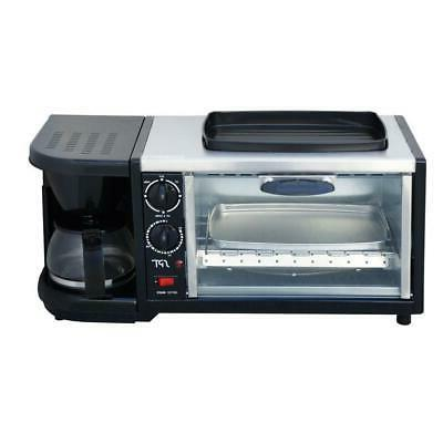 Breakfast Toaster Non Stick Maker Electric