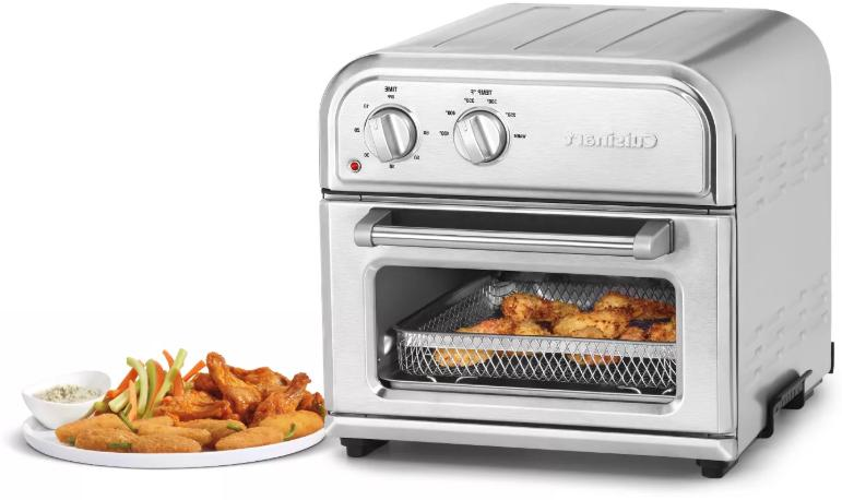 Cuisinart Compact AirFryer Oven Stainless - AFR-25TG