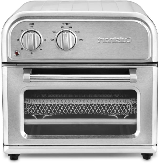 compact airfryer toaster oven stainless steel afr
