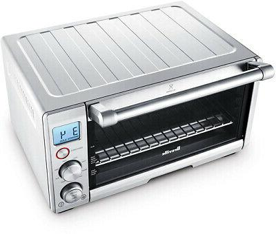 BREVILLE The Compact Smart Oven, Countertop Toaster Oven BOV650XL