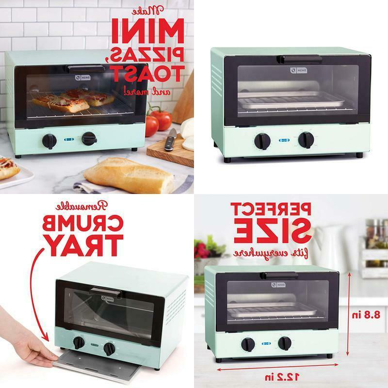 compact toaster oven cooker for bread bagels