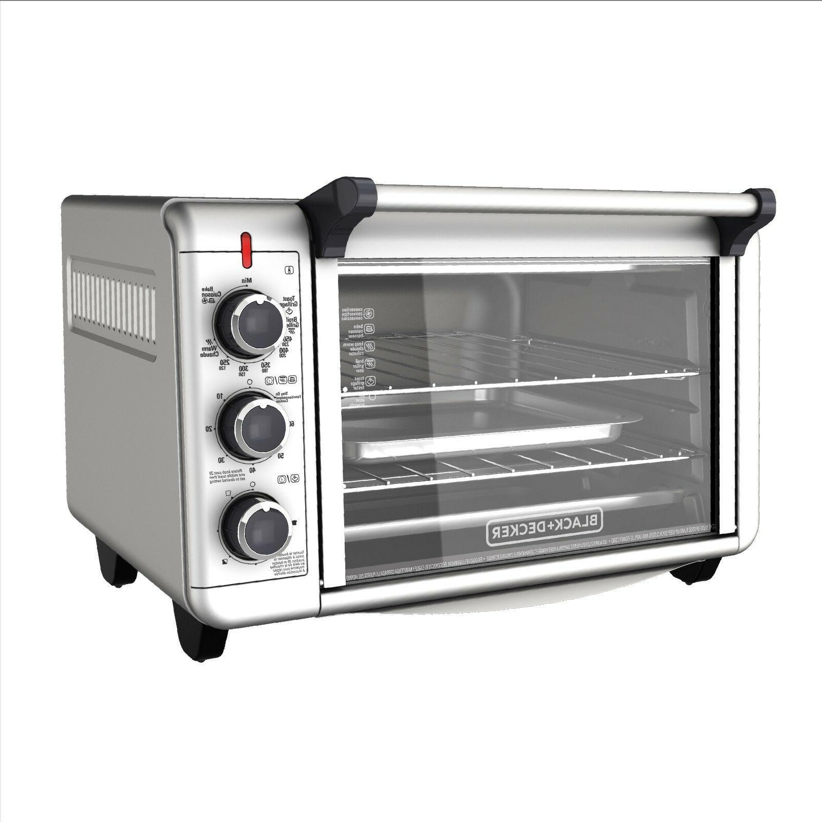 convection countertop toaster oven baking cooking pizza