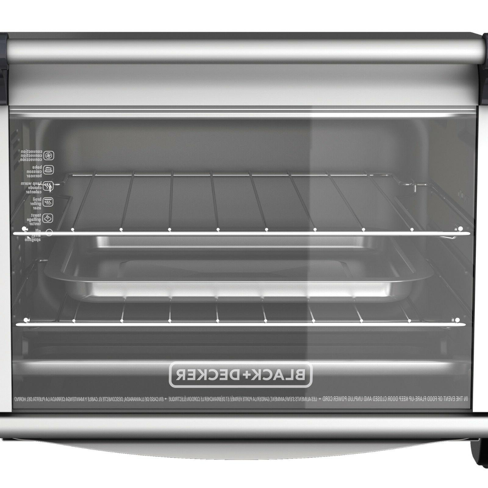 CONVECTION OVEN Toaster Stainless Broiling