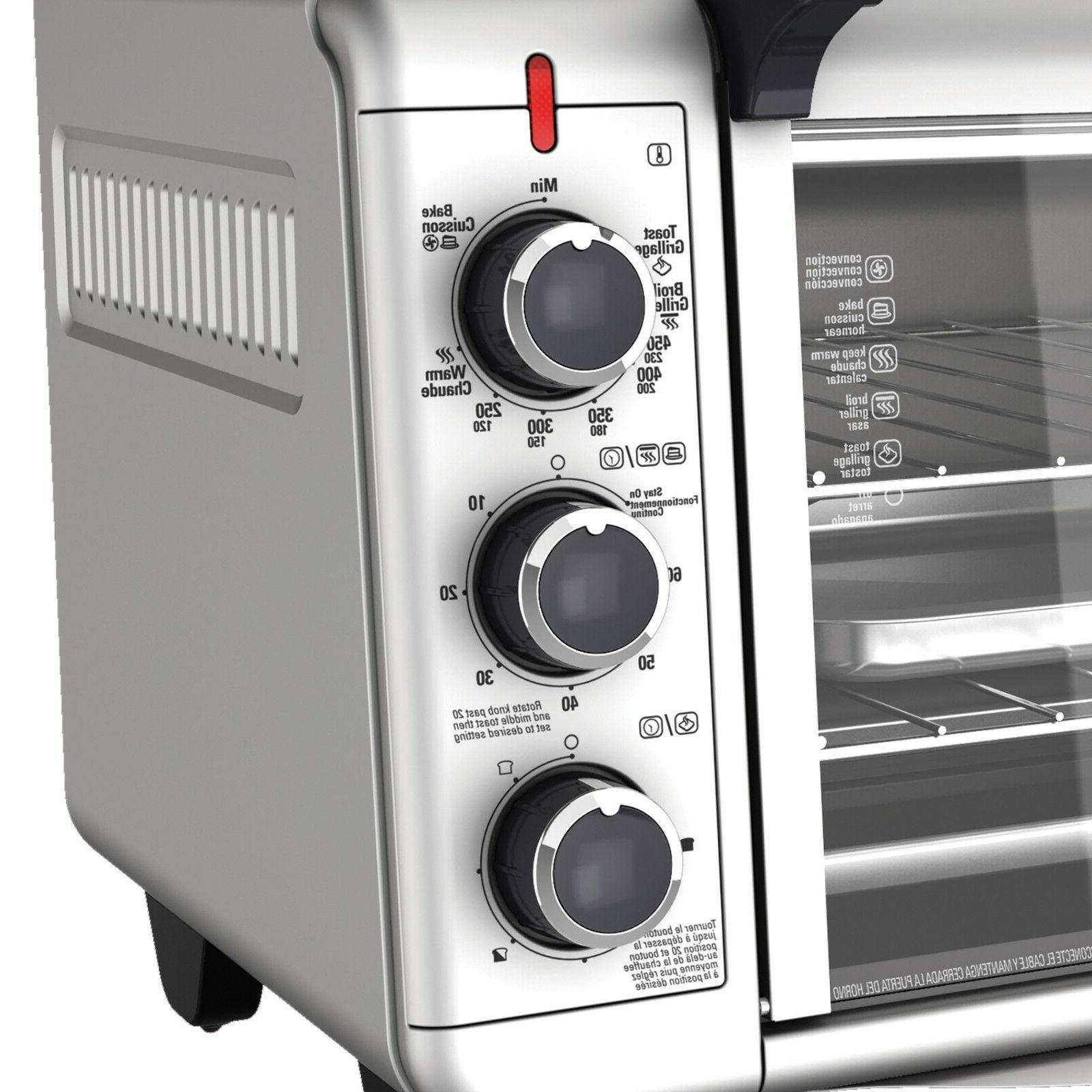 CONVECTION OVEN Pizza Toaster Stainless Steel Broiling