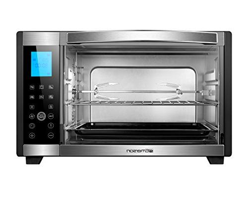 Emerson Convection & Countertop Stainless Steel, Control