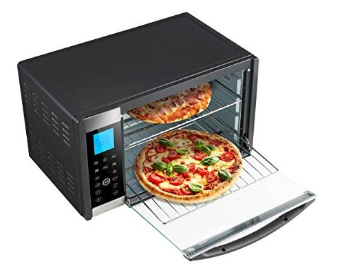 Countertop Toaster Stainless Control Panel,