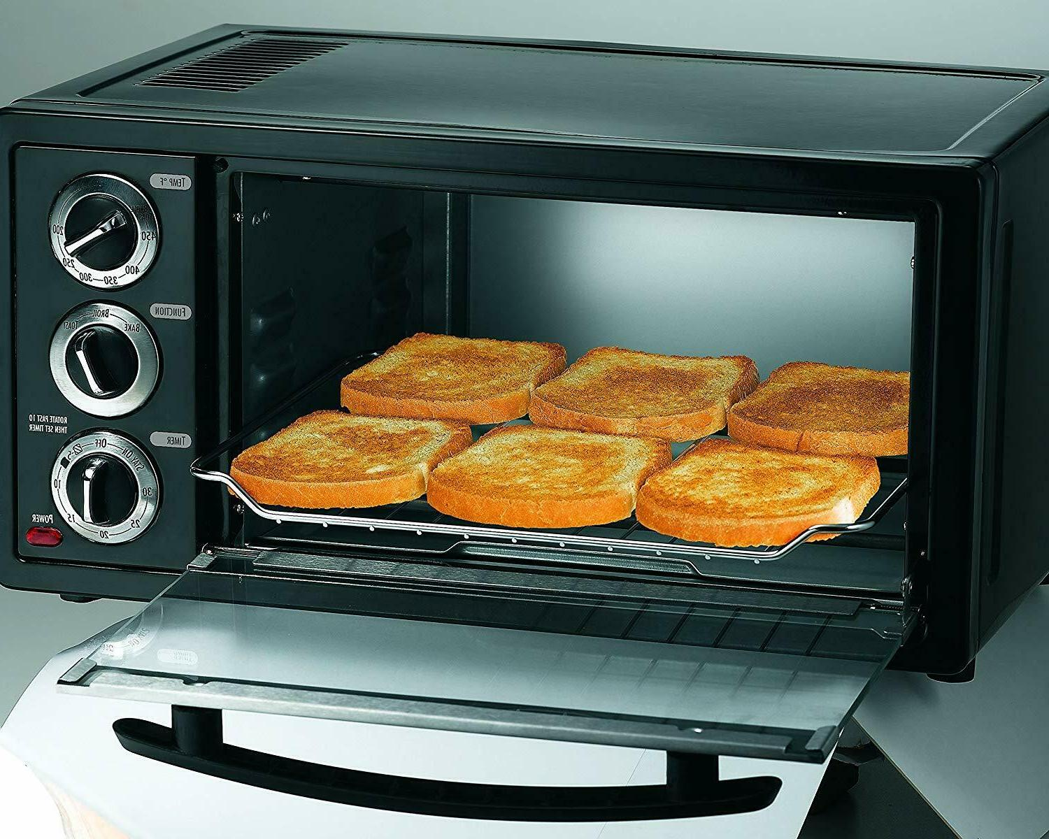 Convection Toaster 6 Slice Brushed Family
