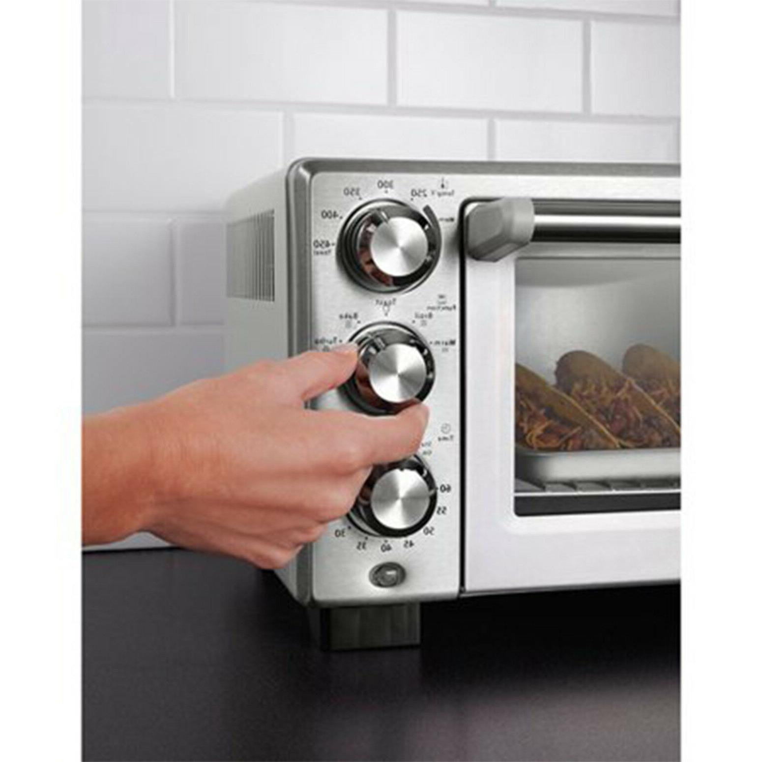 Convection Toaster Oven Slice Family-Size Pizza Cook