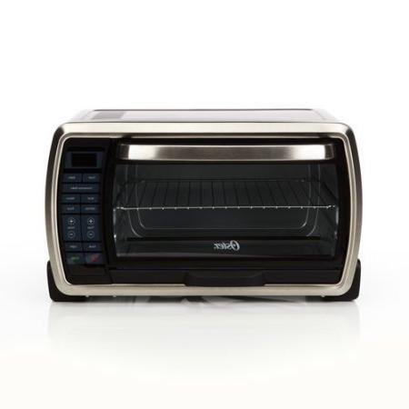 Large Digital Countertop Toaster Oven Cooking Functions