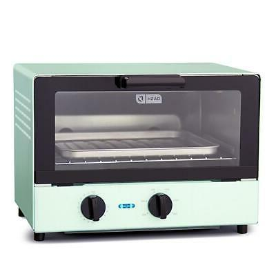 DASH 1100 Watt Compact Toaster Oven with Recipes
