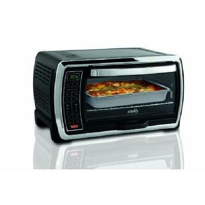 digital convection kitchen countertop toaster oven 6