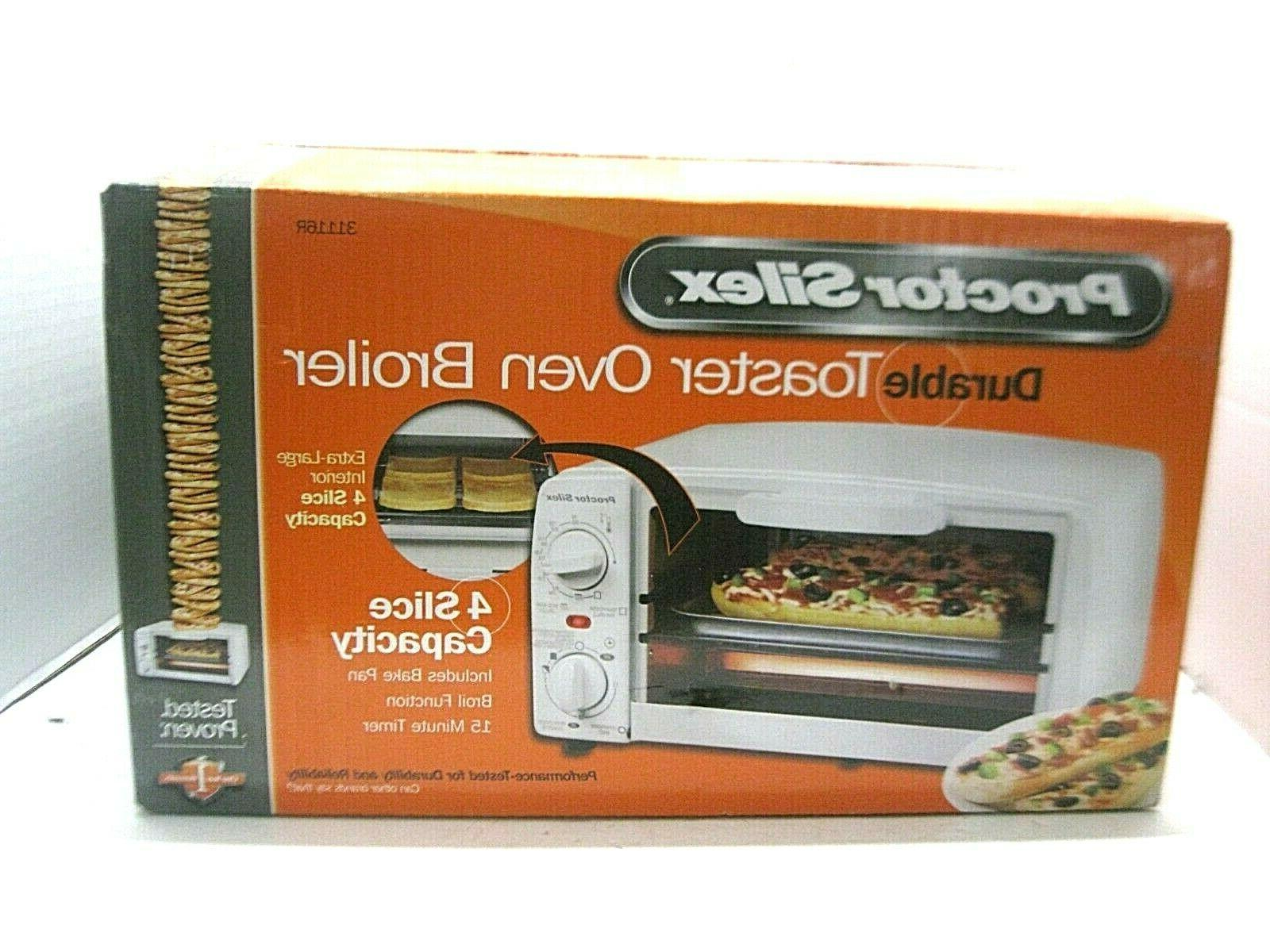 Proctor Silex Oven Broiler Model 31116R Kitchen Appliances