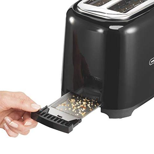 Proctor Silex with Wide Slots Toast Boost, Black