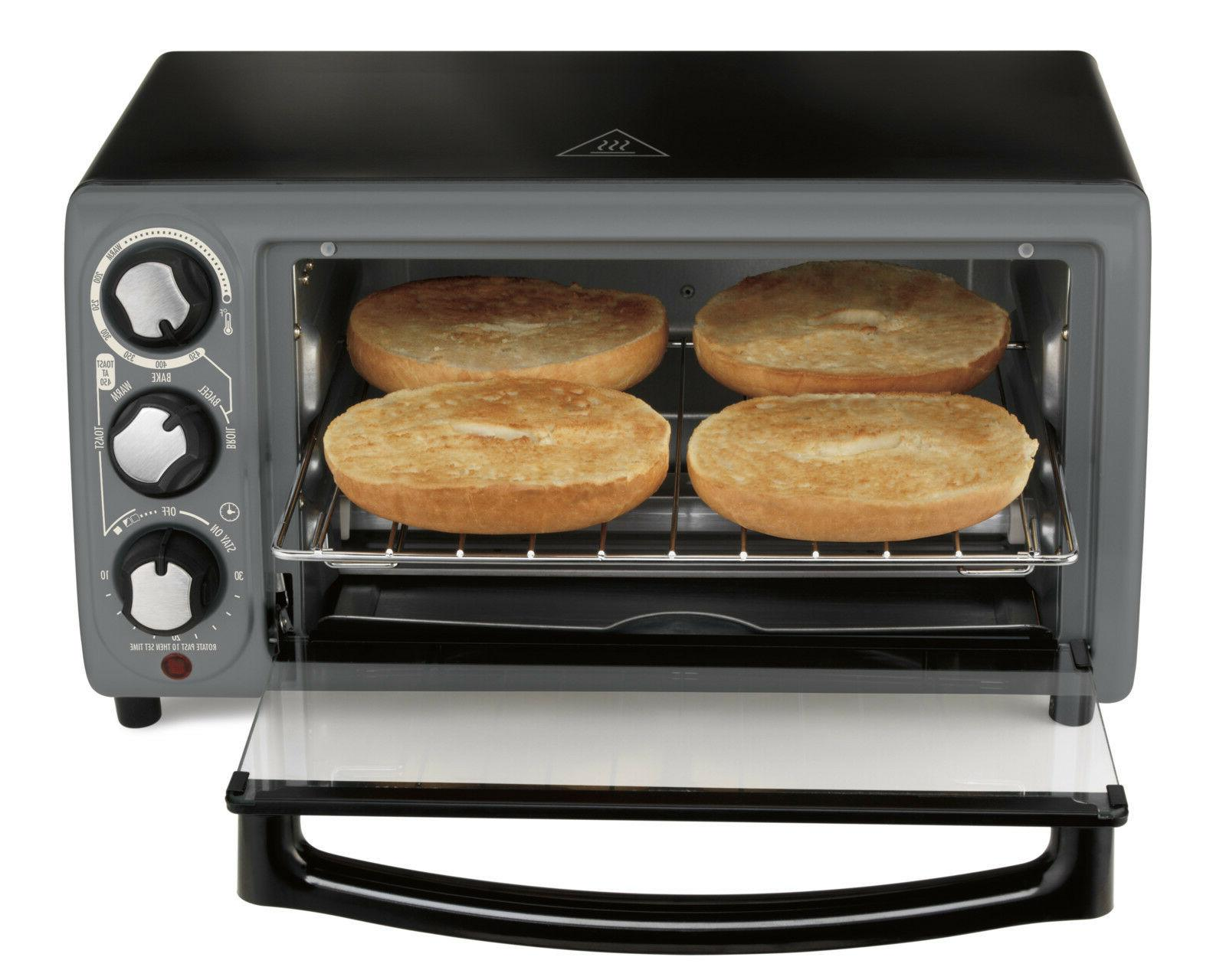 electric 4 slice toater oven
