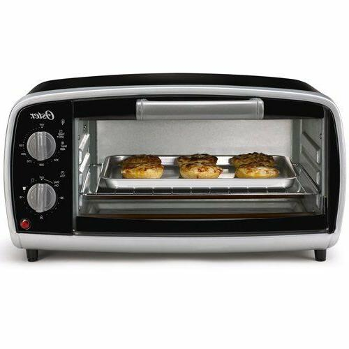 electric countertop 4 slice toaster oven bake