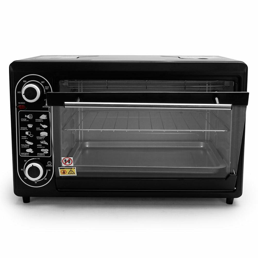 48L Toaster Oven Stainless Steel Electric Oven Household Kit