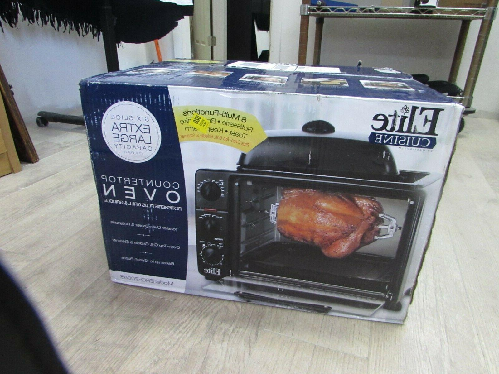 ero 2008s countertop toaster oven with top