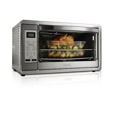 extra large digital convection toaster oven steel